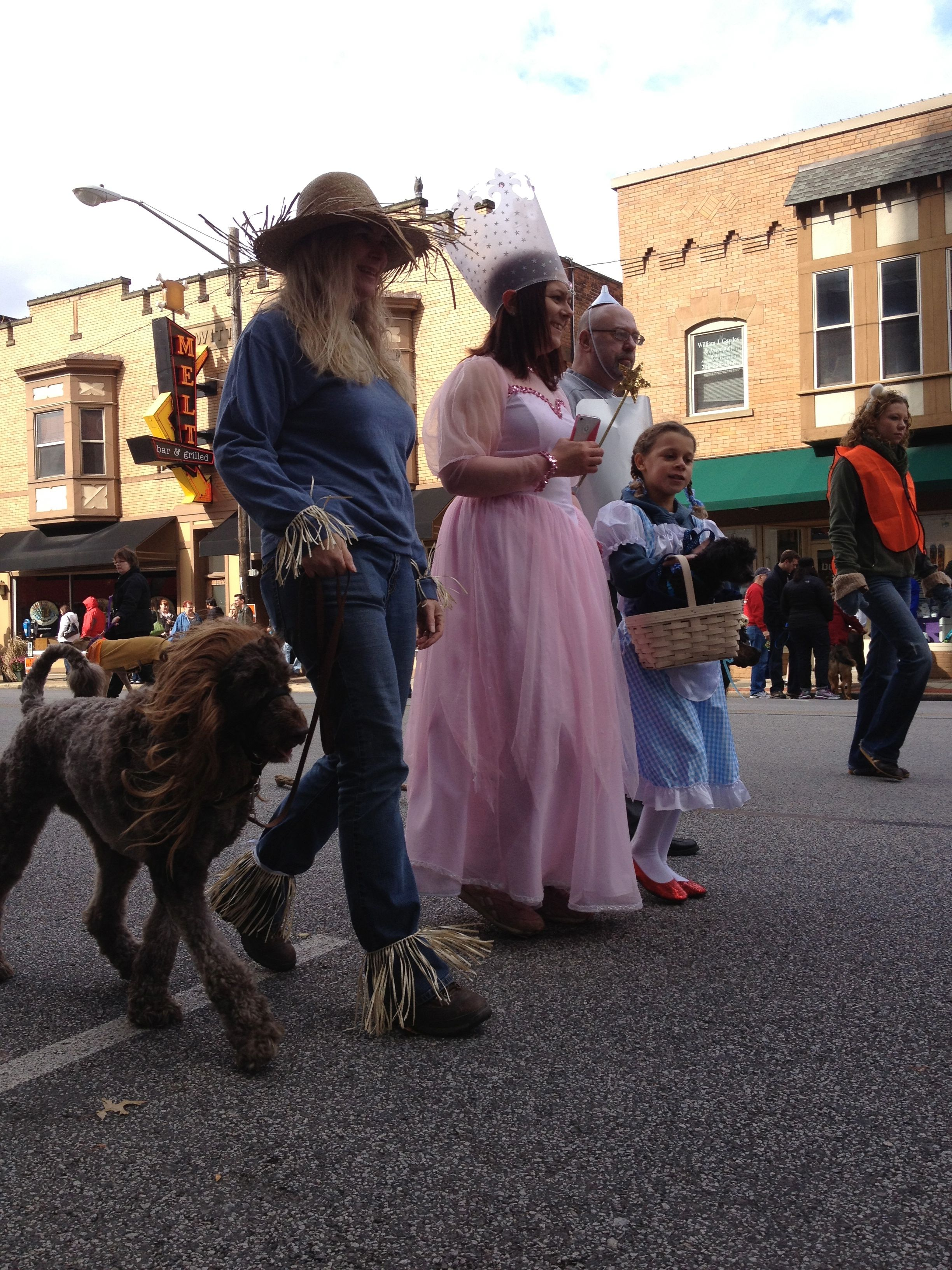 Spooky Pooch Parade: The Wizard of Oz, featuring the Cowardly Lion ...