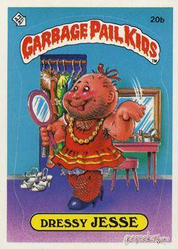 Garbage Pail Kids Original Series 1 Card Collection Garbage Pail Kids Garbage Pail Kids Cards Pail