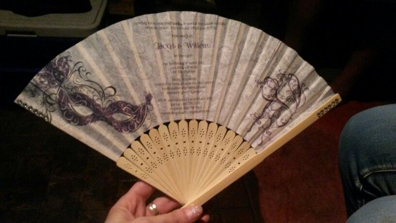 Anese Folding Fan Wedding Invitation Pretty Awesome Idea