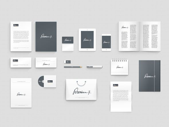 15 inspiring examples of creative corporate identity | Corporate ...