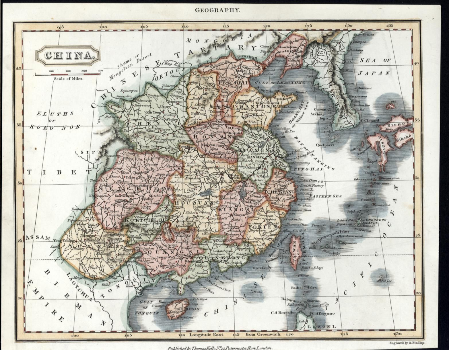 Map of China Korea South Japan Taiwan