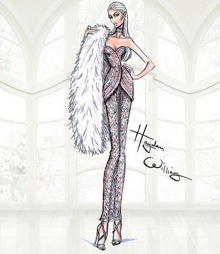Hayden Williams Haute Couture SS15: Look 3 | Look 3 | Hayden Williams | Flickr