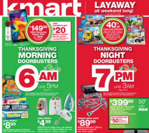 Kmart Black Friday Ad Released