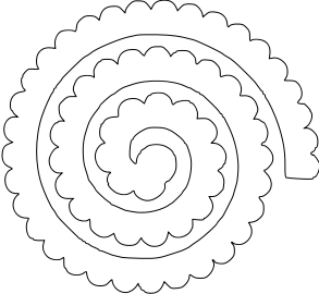 Download Image result for cricut flower template | Felt flower ...