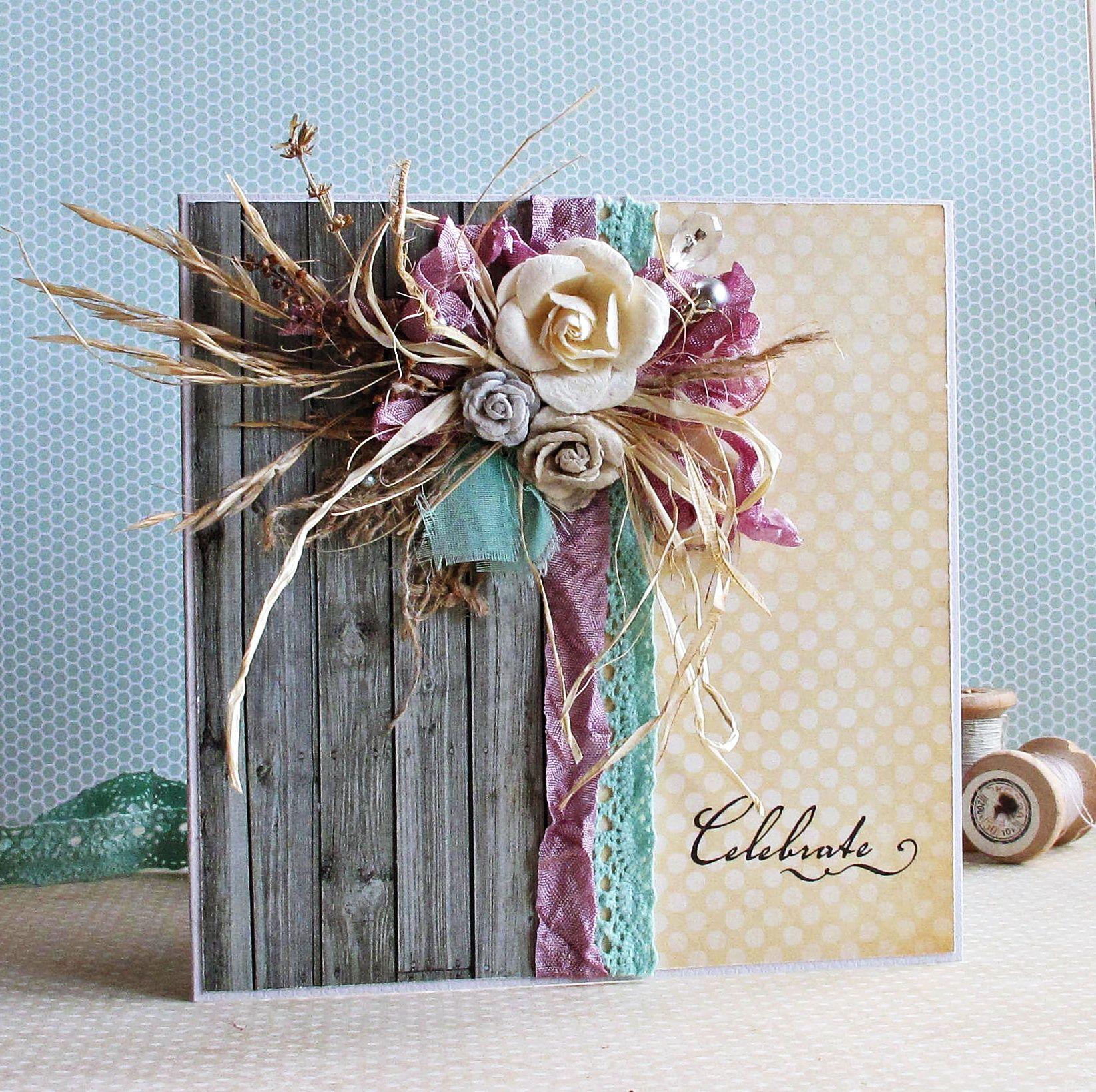 Celebrate card - Scrapbook.com | Wendy Schultz - Gift Cards & Tags.