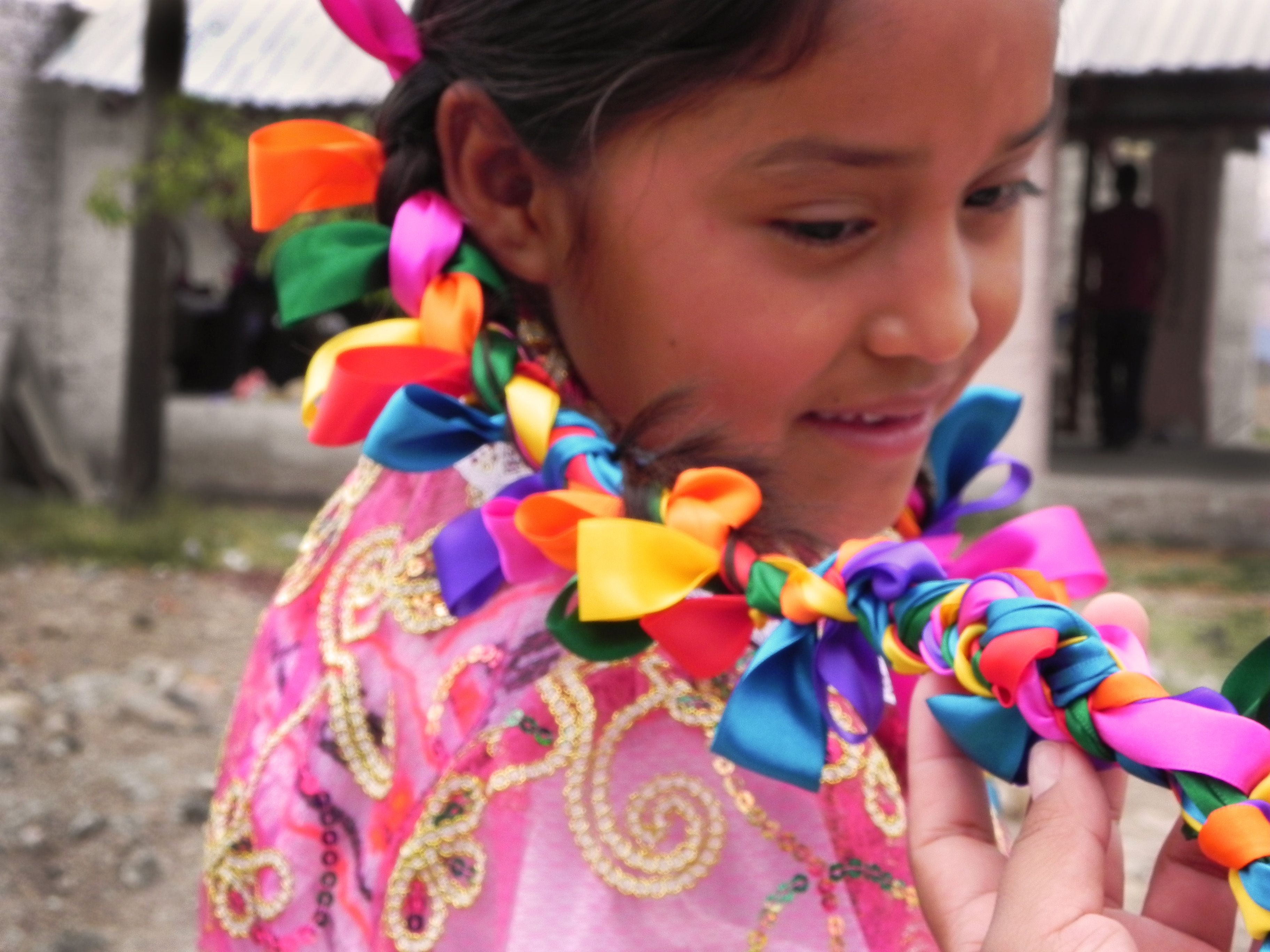 Ribbon Hair Braid Beautiful Faces Of Mexico Pinterest Mexican Colors Colors And Hair