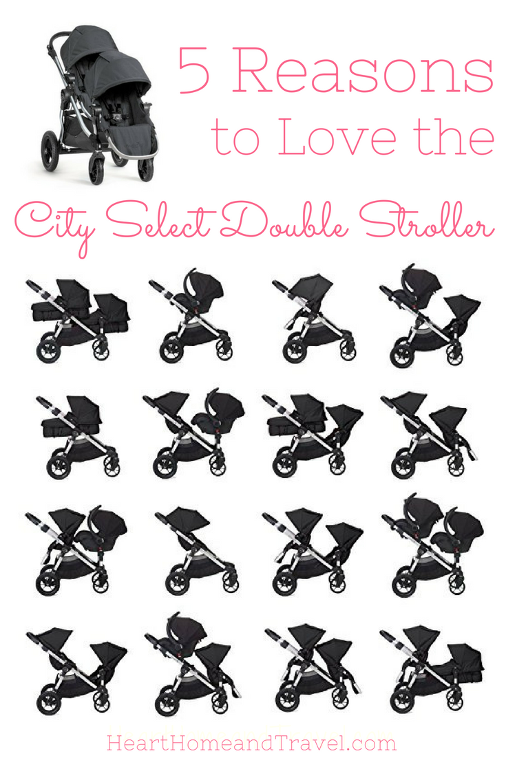 5 Reasons To Love The City Select Double Stroller City Select Double Stroller Best Baby Strollers Double Strollers