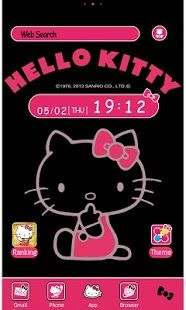 Hello Kitty Launcher Home Live Wallpaper Pinterest