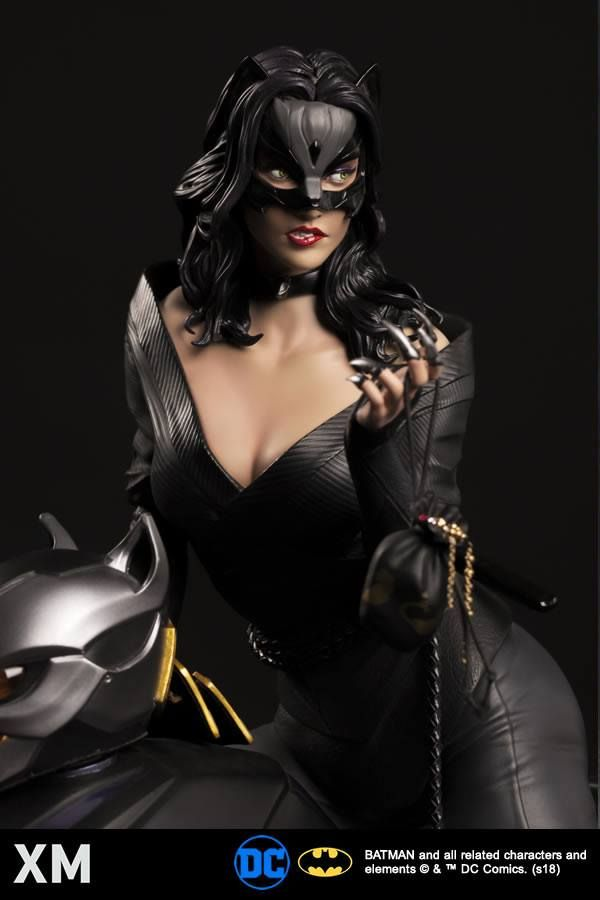 Catwoman Xm Studios Ninja Inspired Master Thief Joins Xms Best