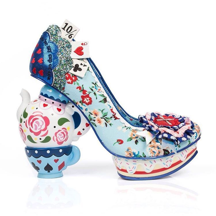 Limited edition Irregular Choice - Alice in Wonderland collection ...