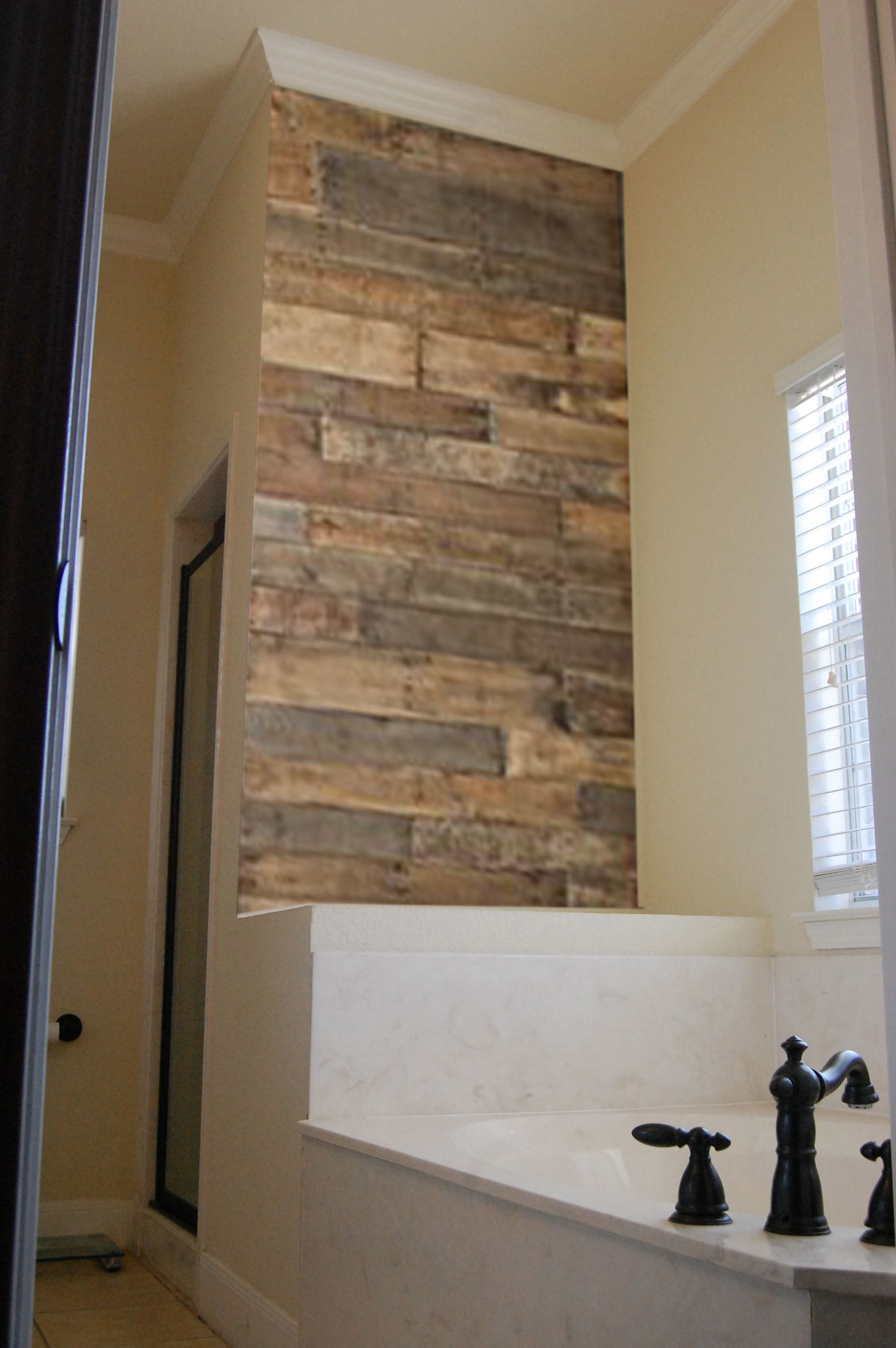 Wood Accent Wall Barn Wood Wood Home Remodeling