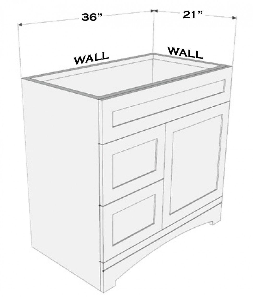 77+ Bathroom Vanity Cabinet Dimensions - Best Interior Paint Brand ...