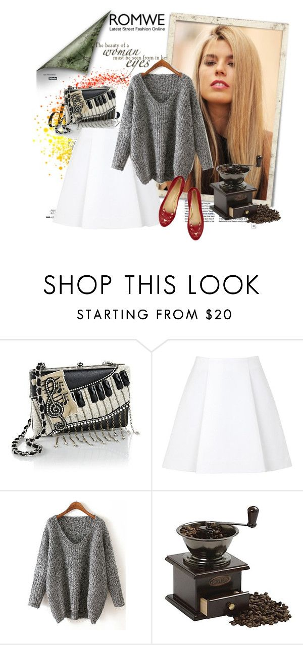"""""""ROMWE"""" by anastasia-ana ❤ liked on Polyvore featuring Anja, Mary Frances Accessories, 3.1 Phillip Lim, Norpro and romwe"""