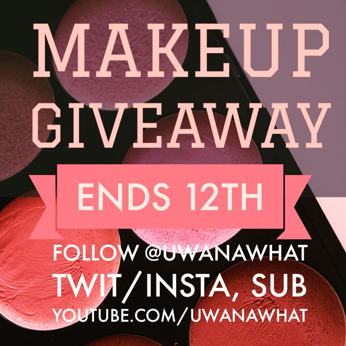 Makeup Giveaway #cosmetics #beauty #makeup #free #contest #win #bbloggera #beautyblogger
