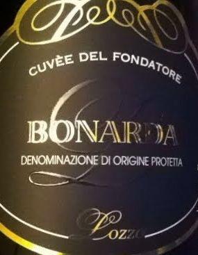 Cuvèe del Fondatore - Bonarda - Lozza #vino #etichette #packaging #design #naming