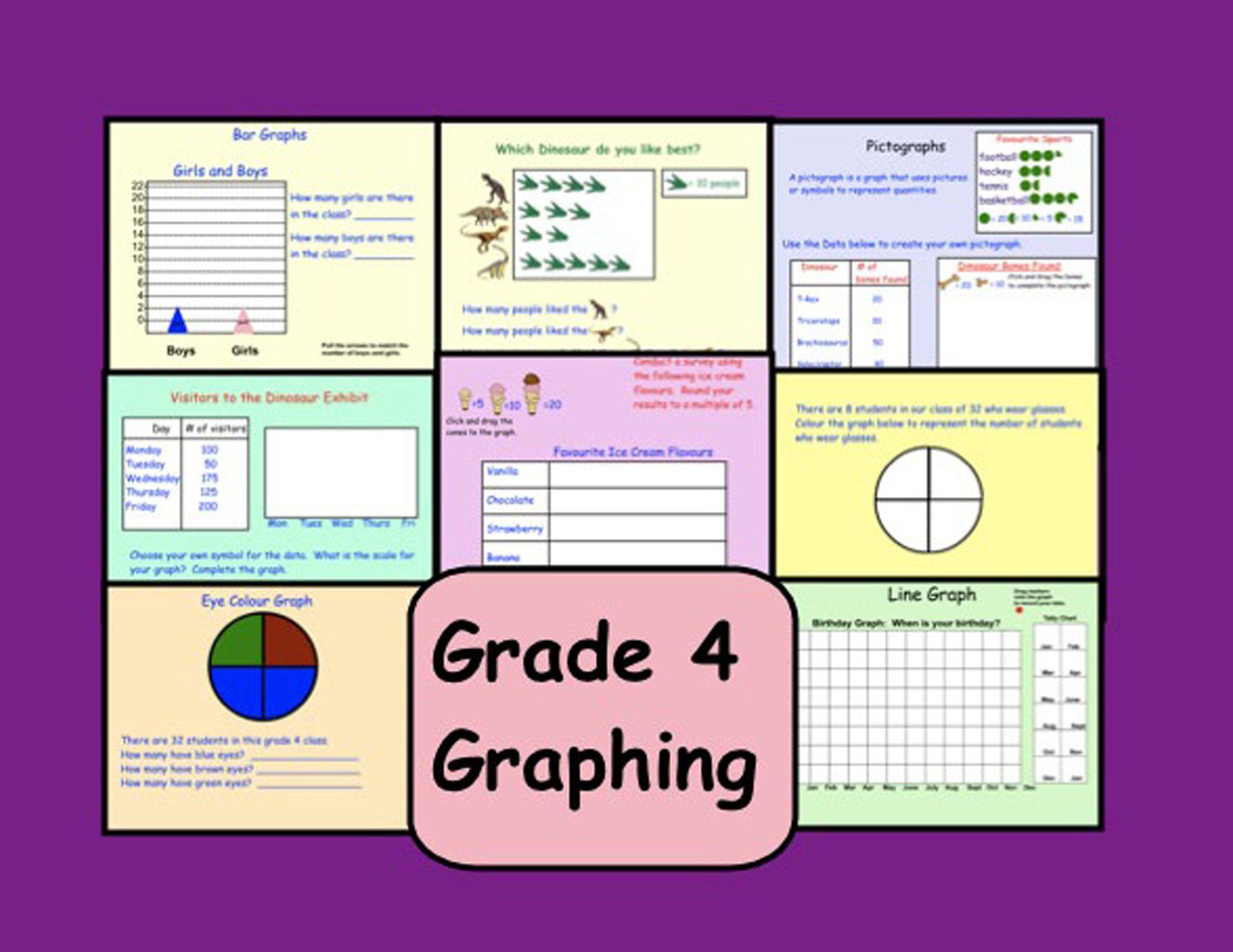 Smartboard Grade 4 Interactive Graphing