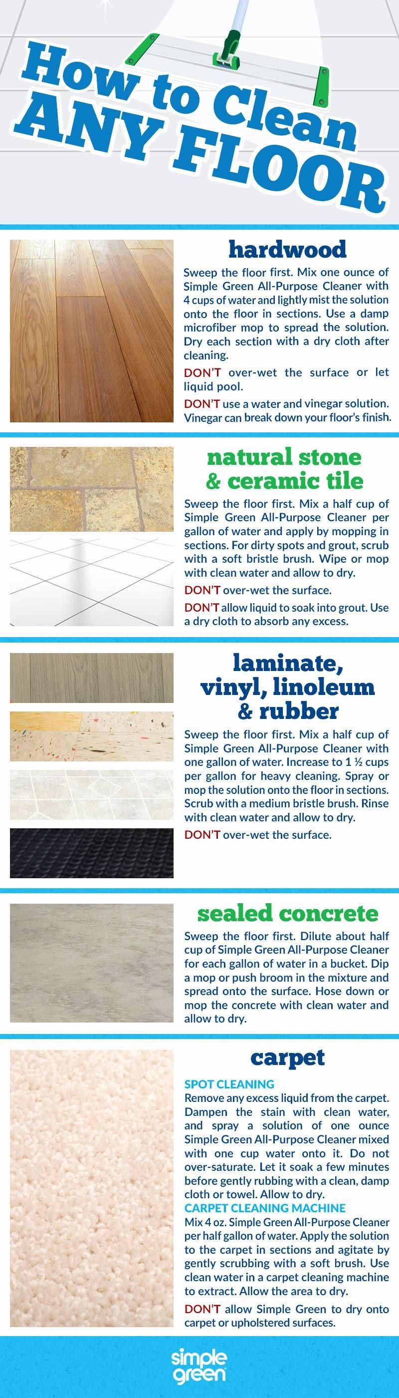 Best Way Clean Tile Floors Vinegar Cleaning Household