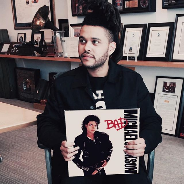 The Weeknd paying respects to Michael Jackson on his birthday ...
