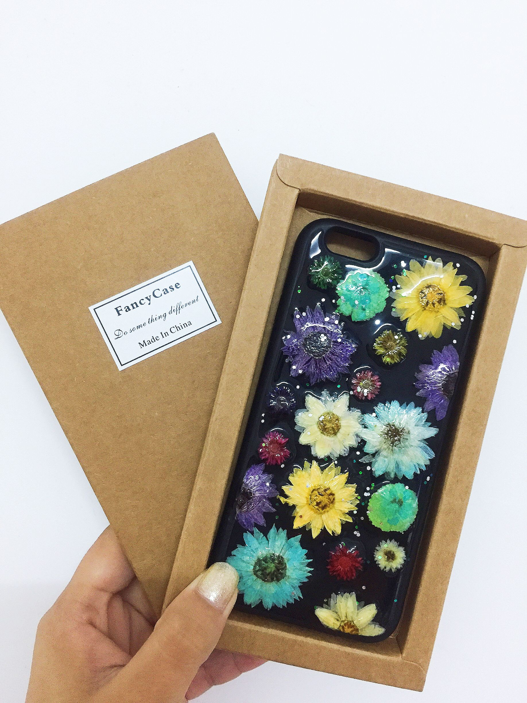 pretty nice 1585a 56c7e Epoxy Resin for Doming on Phone Case with Dried Flowers   DIY cream ...