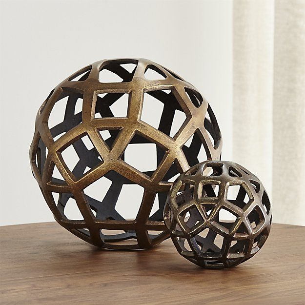 Cheap Decorative Balls Shop Geo Decorative Metal Ballspentagons Triangles And Squares