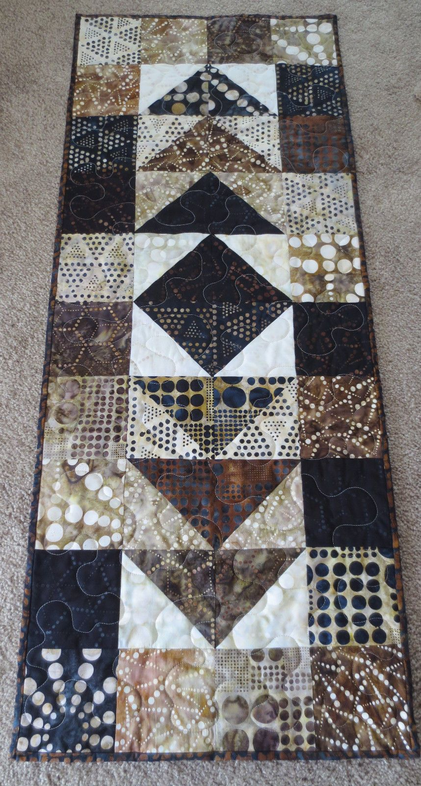 table to best work a quilter with patterns quilted and how of quilt runner diy diary ideas aflk furniture popular pict the fall