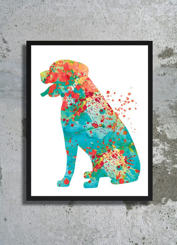 Rottweiler Watercolor Painting Print Rottweiler Art Rottweiler Poster Dog illustration Nursery Decor Kids Baby room Home decor Dog painting