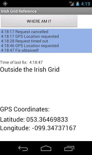 A simple app to convert GPS latitude and Longitude from the
