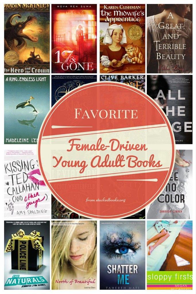 Female-driven YA books