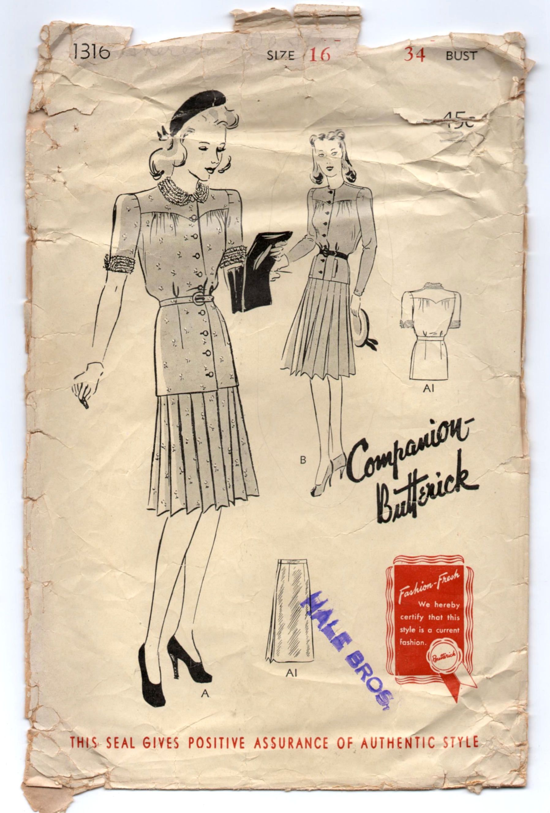 tie waist dress pattern