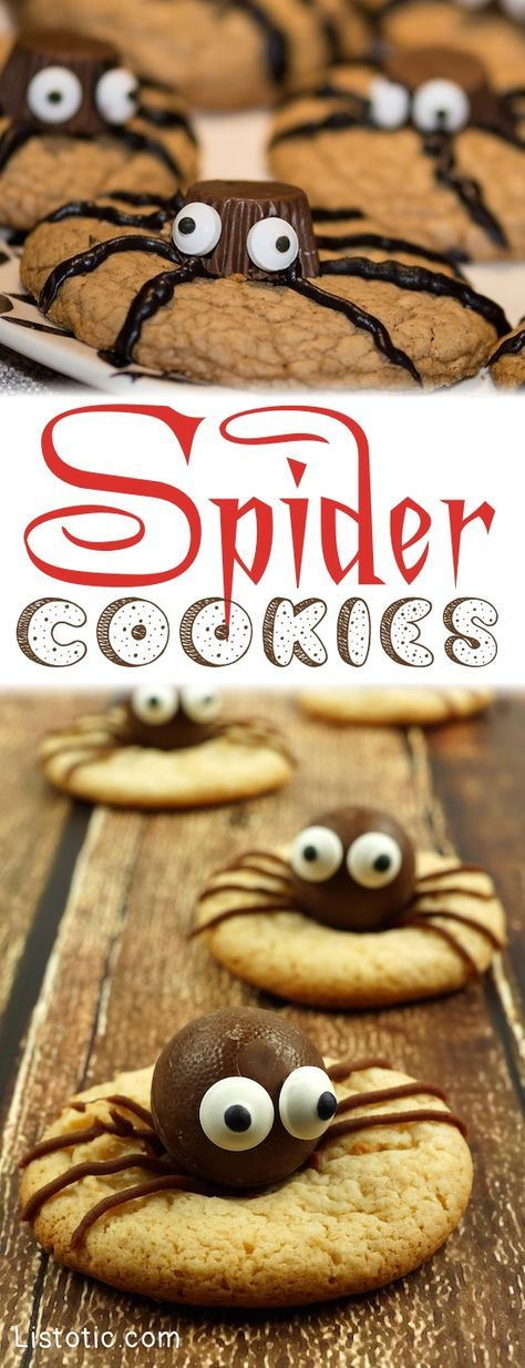 15 Super Cute Halloween Treats To Make For Kids and Adults - Easy