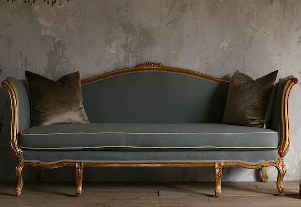 Cecile Daybed Sofa Furniture French Sofa Vintage Sofa
