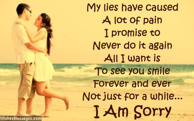 I Am Sorry Message To Girlfriend From Boyfriend Picture imagefully