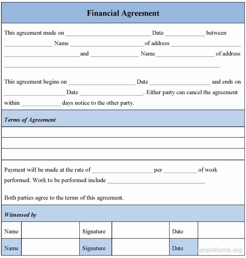 Dental Payment Plan Agreement Template Best Of Financial