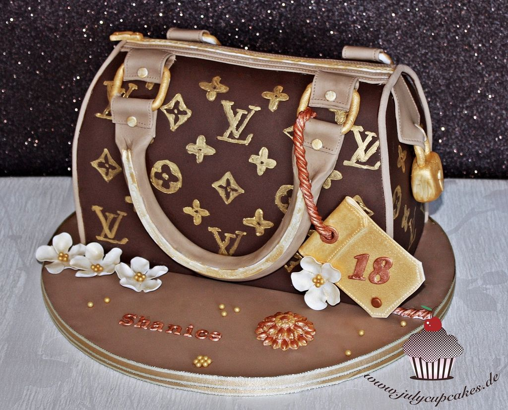 Louis Vuitton Purse Cake in 2019  Torten  Louis vuitton