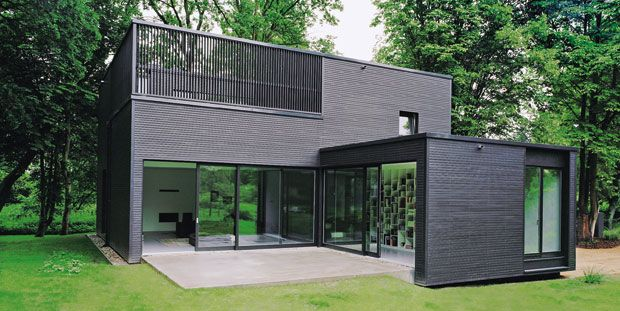 Private residence c95 architekten h user pinterest Minimalistisches haus grundriss
