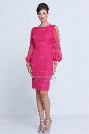 376bb891aa Vestidos de fiesta cortos para gorditas maduras – Vestidos hermosos ...