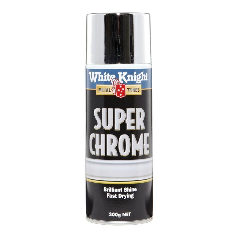 white knight 300g super chrome spray paint diy 39 s. Black Bedroom Furniture Sets. Home Design Ideas