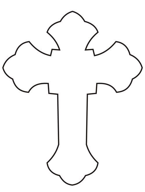 Outline of cross google search sew crazy pinterest outlines google search and google for Cross template free