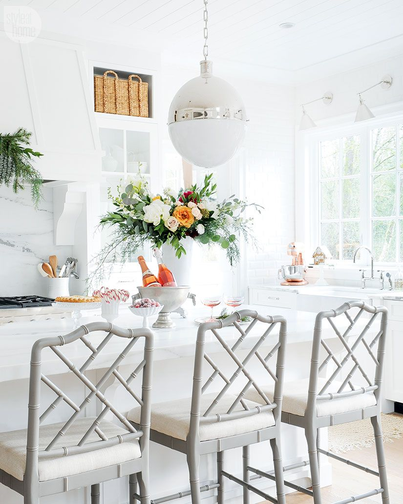 Style meets sentiment in this pretty holiday home | Kitchens ...