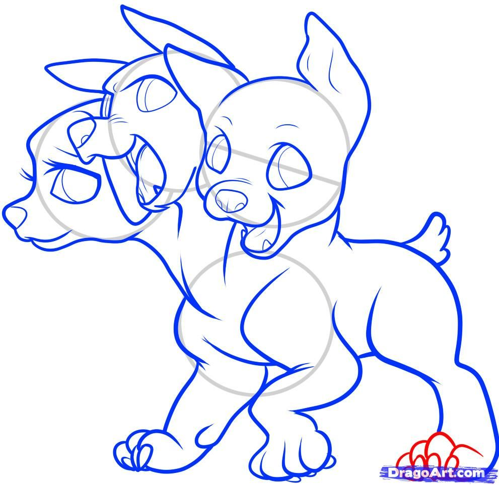 How To Draw Cerberus Cerberus Step By Step Greek Mythology Mythical Beasts Free Onlin Mythical Creatures Drawings Mythical Creatures Art Creature Drawings [ 964 x 991 Pixel ]