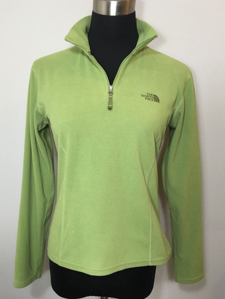 8cded9ba2 The North Face TKA 100 Green S Fall Fleece Jacket Pullover ...