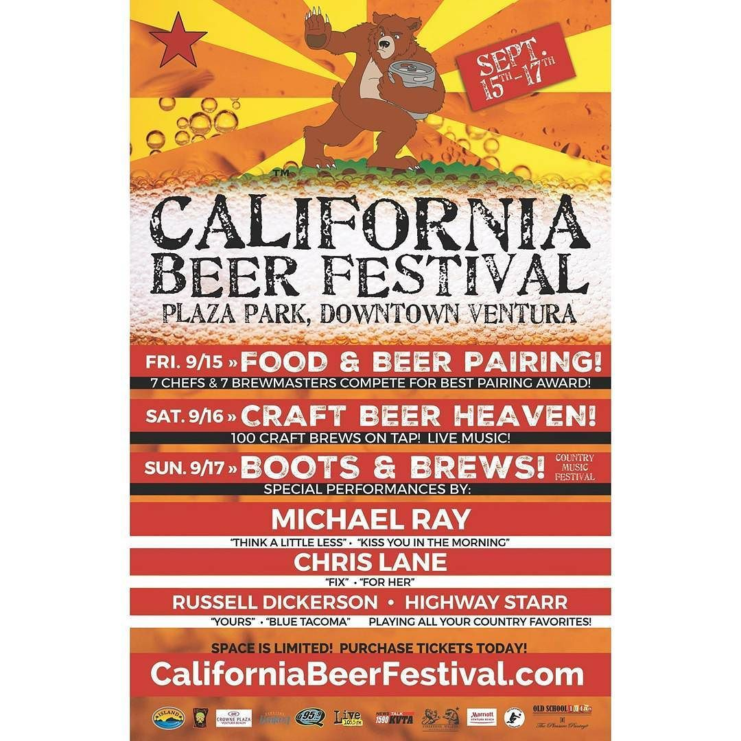 It S Contest Time Again Want To Win A Pair Of Tickets To Californiabeerfestival In Downtown Ventura Just Follow Us Beer Festival Beer Pairing Craft Brewing
