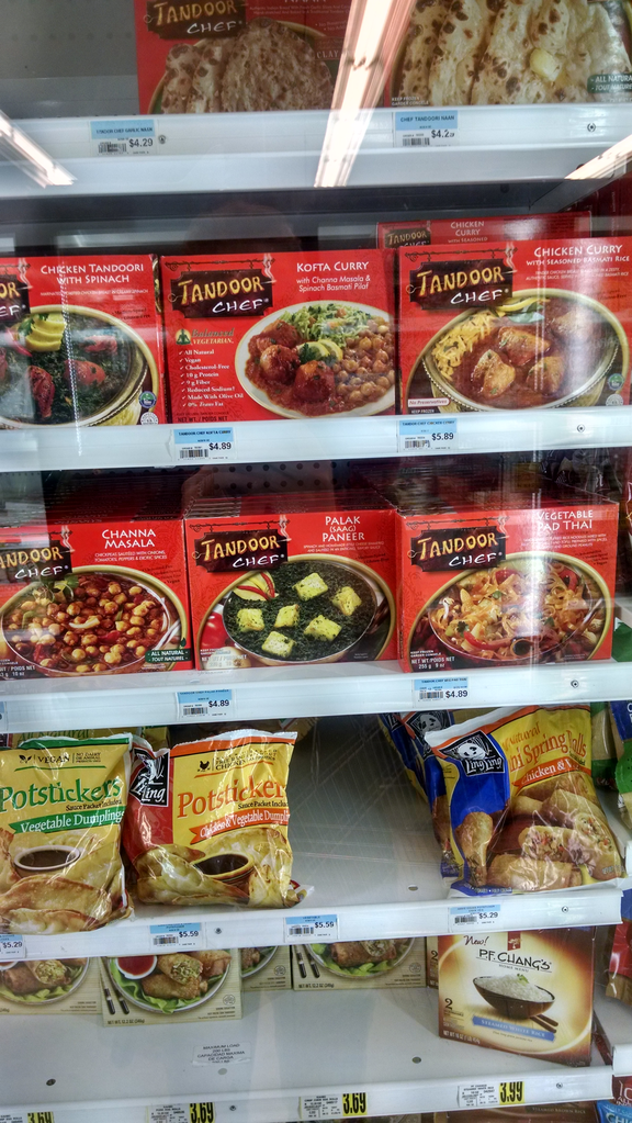 SPOTTED TandoorChef in the freezer aisle of your favorite