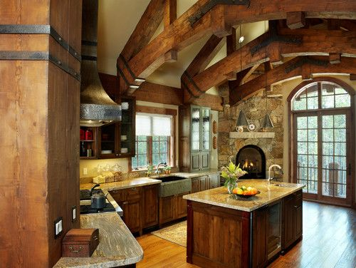 Photo of Log Cabin Decorating Design, Pictures, Remodel, Decor and Ideas – page 275