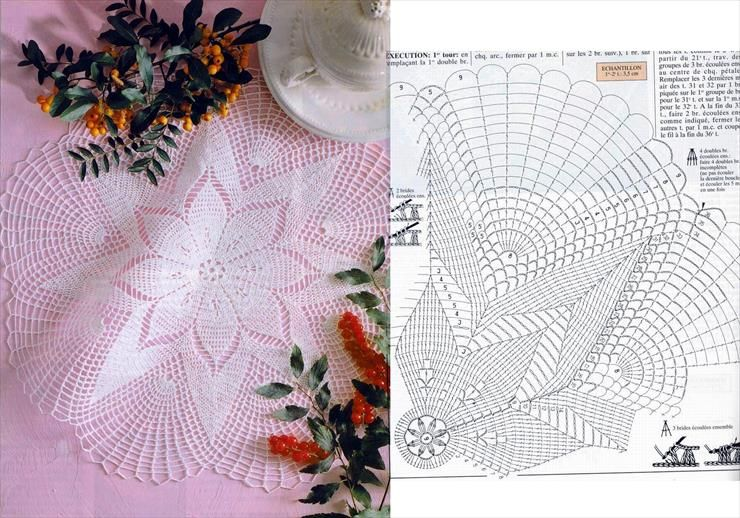 Koronka Koniakowska Szydelko Izyda55 Chomikuj Pl Irish Crochet Motifs Crochet Doilies Crochet Tablecloth Pattern
