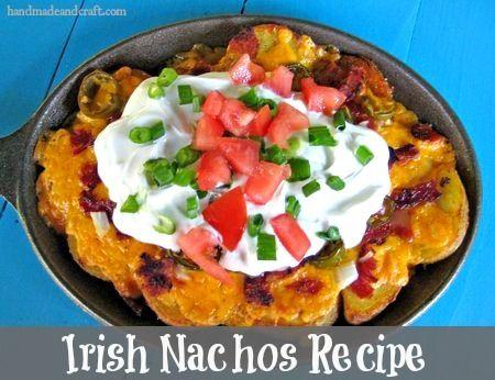 Irish Nachos Recipe on HandmadeandCraft.com