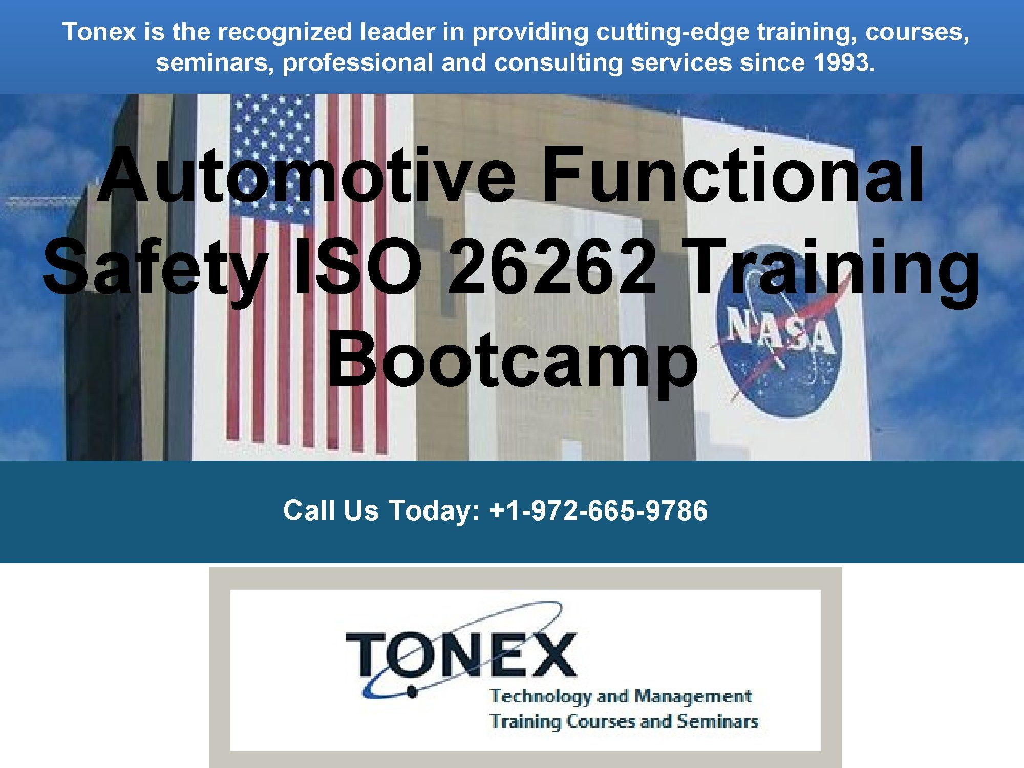 Automotive functional safety ISO 26262 training provides