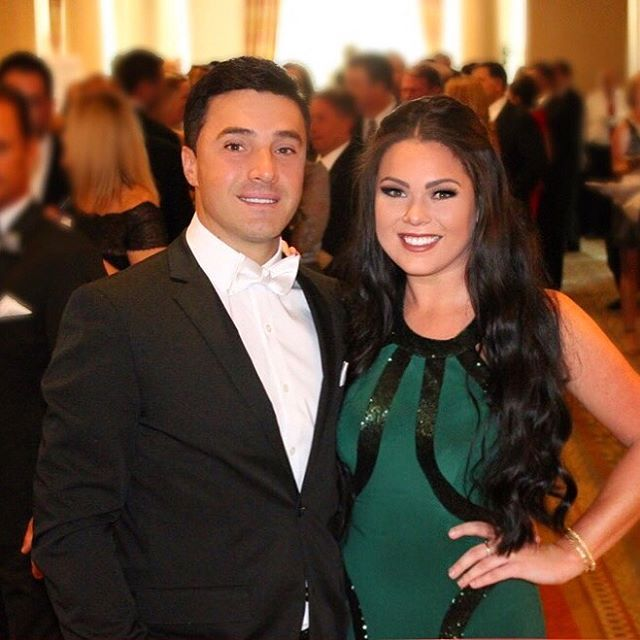 929c7be7d0471 Fan Photo | Darien stunning her date in our Faviana Blazing Emerald Gown # 7510 while supporting the Moffitt Cancer Center on behalf of the Hard Rock  Tampa ...