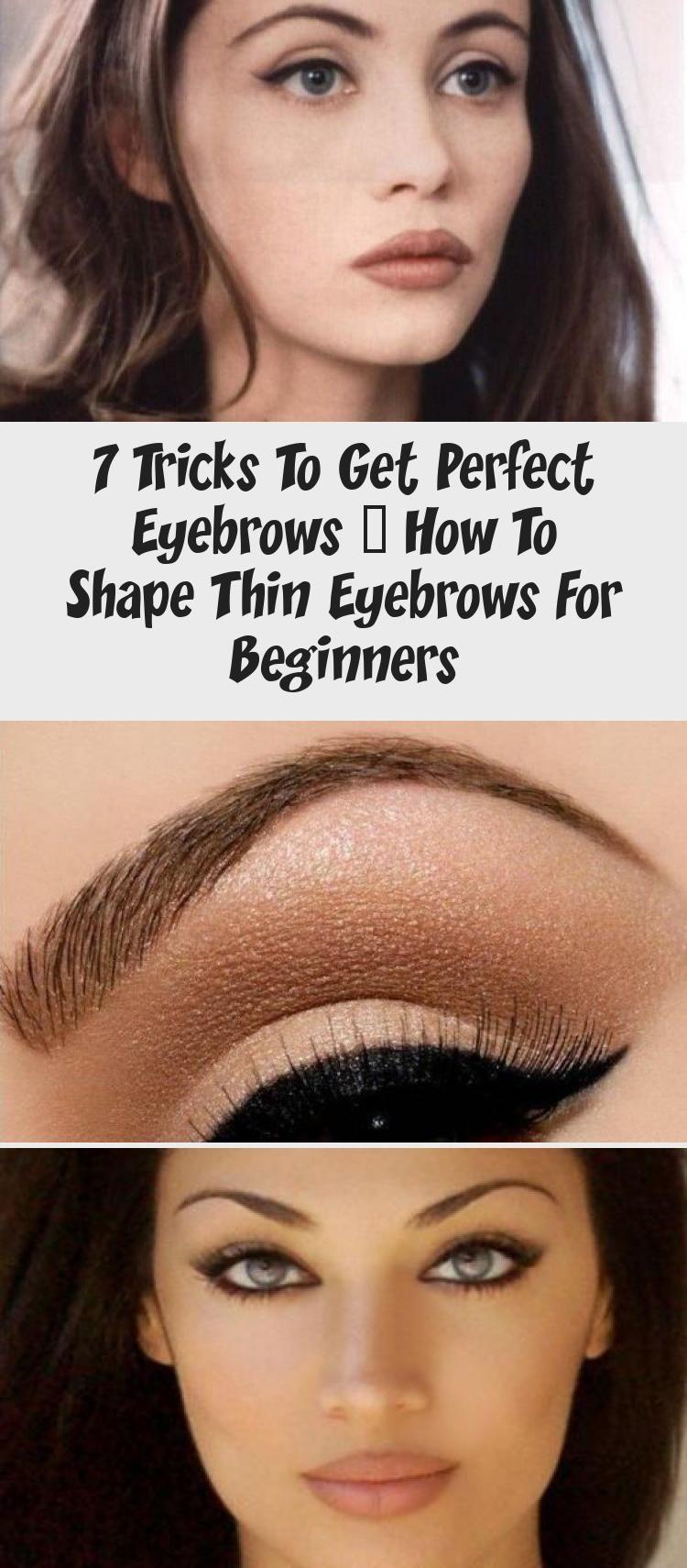 Beginners Eye Eyebrows Makeup Perfect Shape 2020 Eyebrows