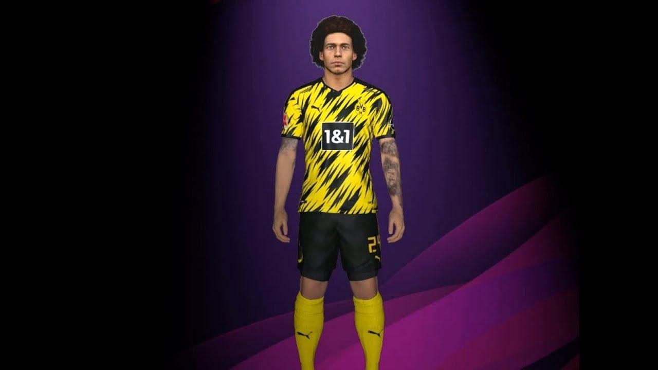 Borussia Dortmund New Kits Season 2020 2021 For All Patches Of Pes 2017 In 2020 European Football Borussia Dortmund European Soccer
